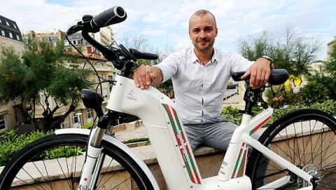 Alpha, la primera bici eléctrica que funciona con hidrógeno