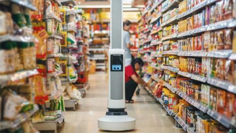 Tally, el robot reponedor de los supermercados del futuro