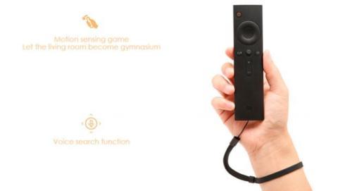 El mando del Xiaomi Mi TV Box 3 cuenta con un sistema de reconocimiento de voz