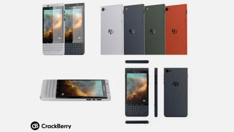 Se filtra el prototipo del próximo smartphone de BlackBerry