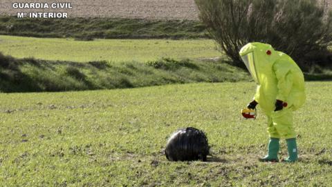 Está lloviendo basura espacial en diferentes zonas de España