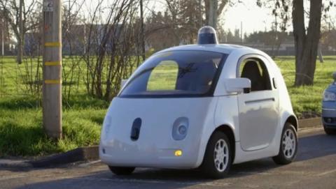 Policía de Mountain View detiene al coche autónomo de Google