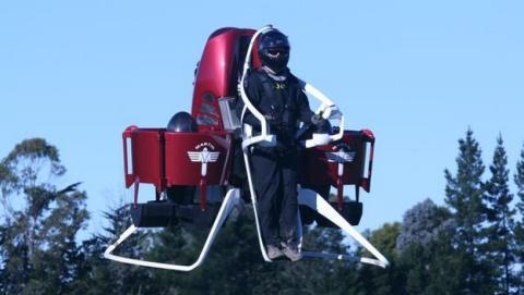 Bomberos de Dubai acudirán a emergencias volando en jetpacks