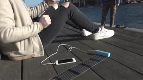 HeLi-on, el cargador solar más compacto para tu móvil