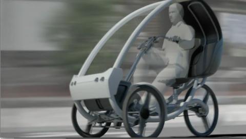 Este nuevo triciclo autónomo promete ser el rey de las calles
