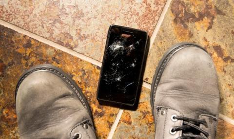 Pantalla rota smartphone