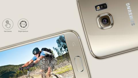 cámara Samsung Galaxy S7