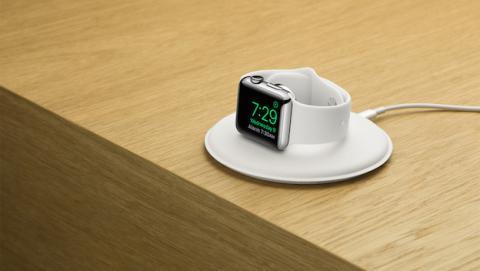 Apple lanza un dock para Apple Watch