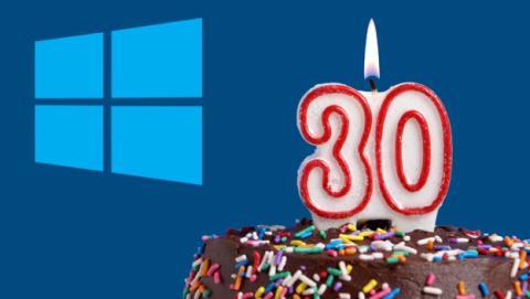 Windows 30 años