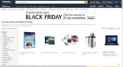 Black Friday 2015 Amazon España