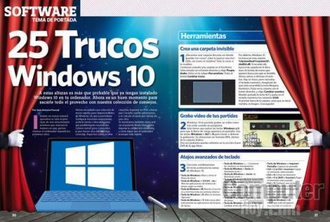 25 trucos para Windows 10