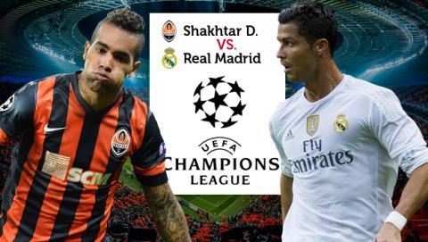 Cómo ver online y en directo el Shakhtar Donetsk vs Real Madrid de Champions League
