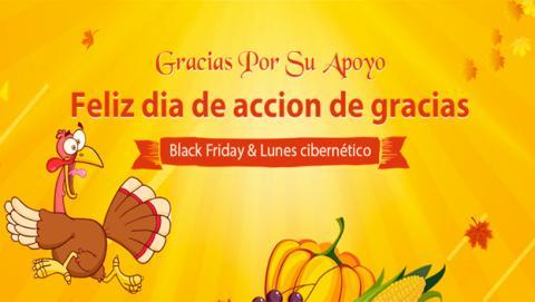 Igogo cambia el pavo de Acción de Gracias por descuentos