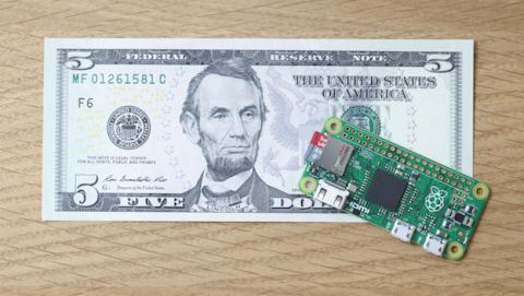 Raspberry Pi Zero, un pequeño ordenador por menos de 5 euros