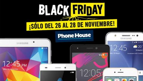 Black Friday 2015: ofertas en móviles, tablets y accesorios en Phone House