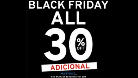 Black Friday 2014 Marypaz
