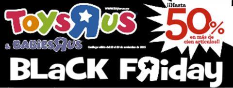 Banner informativo Toys 'R' Us