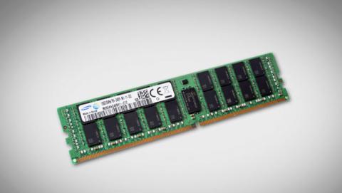 Samsung lanza un módulo de memoria RAM DDR4 de 128 GB