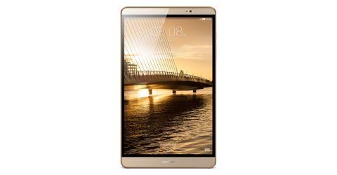 La Huawei MediaPad M2 tiene una pantalla de 8 pulgadas.