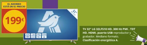 """Televisor LG 32"""" Alcampo"""