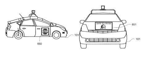 Coche autonomo google peatones