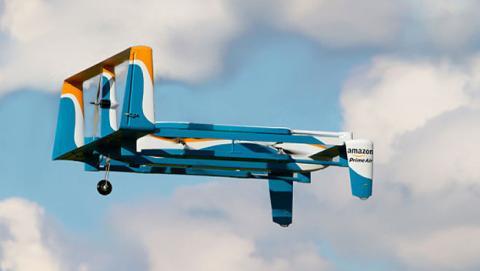 Amazon presenta Prime Air, el primer dron autónomo mensajero