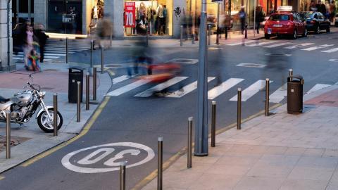 Pontevedra: bajan la velocidad máxima, sube la media