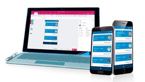 Microsoft PowerApps para crear fácilmente apps de negocio