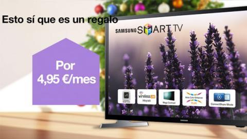 Orange y Jazztel venden televisores a plazos desde 4,95€/mes