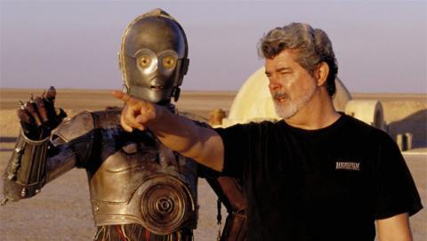 George Lucas asegura que no ha utilizado Internet en 15 años