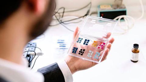 Crean una pantalla para móviles que casi no consume energía