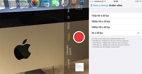 Video 4K Iphone 6S Plus