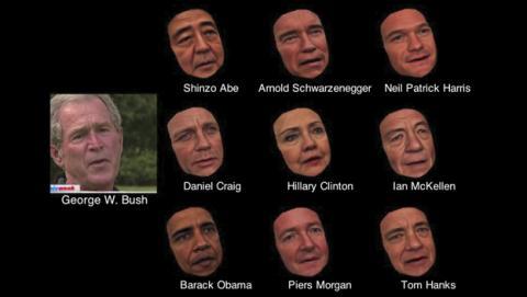 Ejemplos de modelados 3D sincronizados con un vídeo