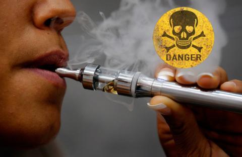 Los cigarros electrónicos podrían causar problemas bronquiales