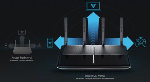 MU-MIMO TP-LINK Archer AC2600