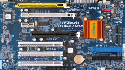 Los distintos conectores AGP, PCI y PCI-e para las tarjetas gráficas