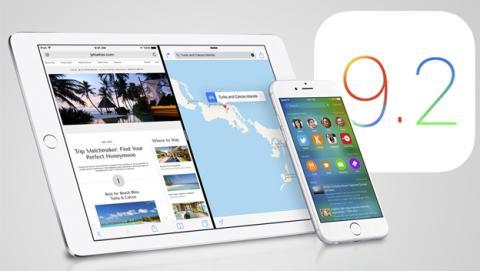 La actualización iOS 9.2