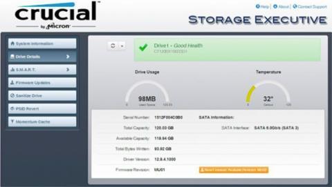 Algunos disco SSD incluyen softwares de mantenimiento y optimización del SSD
