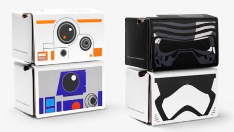 Nuevas Cardboard inspiradas en Star Wars