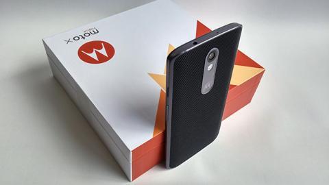 Motorola Moto X Force perspectiva