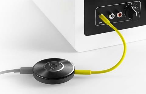Como conectar chromecast altavoces