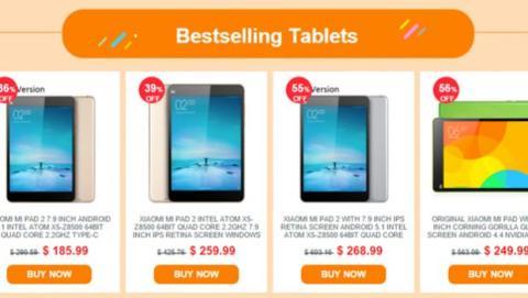 Everbuying ofrece la Xiaomi MiPad 2 hasta con un 55% de descuento