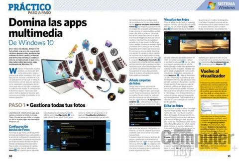 Apps multimedia de Windows 10