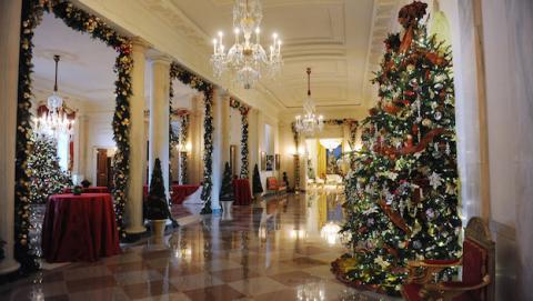 Google te deja visitar la Casa Blanca en Navidad desde casa