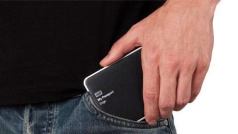 El disco duro portátil no necesita ninguna otra fuente de energía