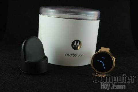 Moto 360 caja.