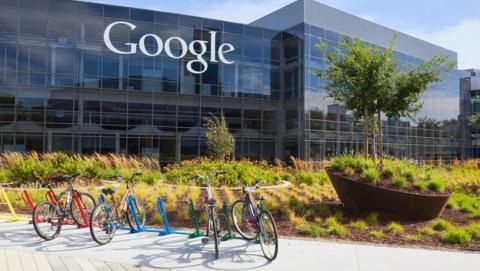 Sede de Google en Estados Unidos