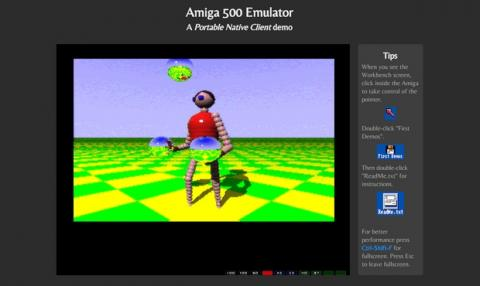 Emula el clásico Commodore Amiga 500 y miles de juegos en Chrome