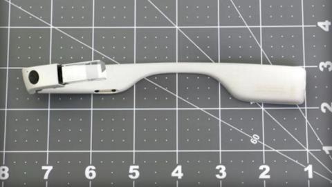 Se filtran nuevas imágenes de Google Glass plegadas