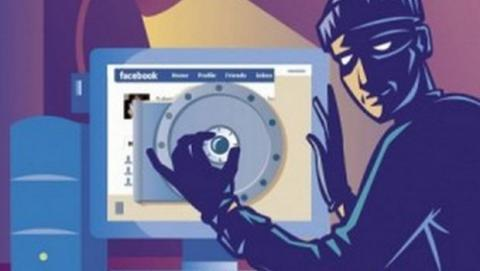 Hacker roba contraseña